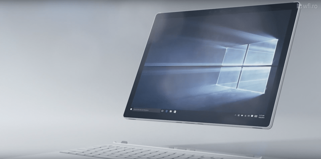 Surface Book - ecran detasabil
